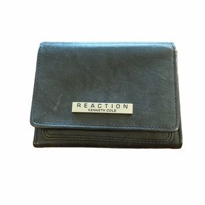 Women's Kenneth Cole Reaction Black Leather Wallet